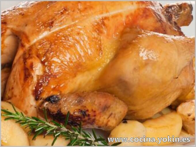 OVEN ROASTED CHICKEN - It is a popular way of eating chicken. It is often accompanied by salad and chips. It is a delicious, cheap and easy dish to make.